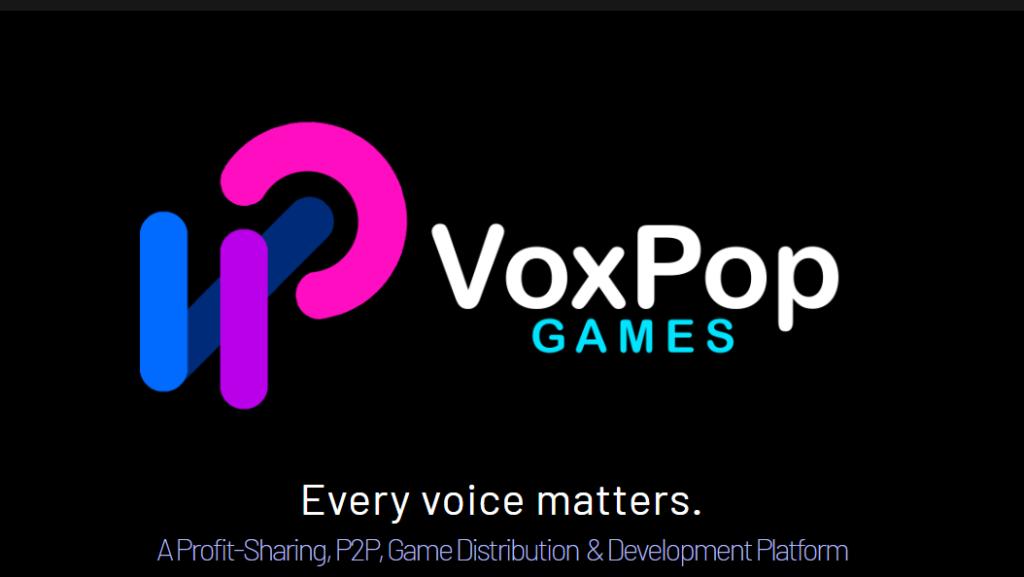 VoxPop Games, A peer-to-peer indie game distribution service